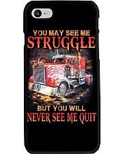 Trucker Never Quit Phone Case thumbnail