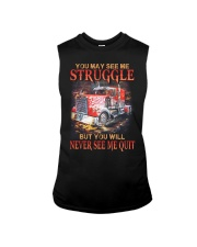 Trucker Never Quit Sleeveless Tee thumbnail