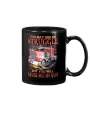 Trucker Never Quit Mug thumbnail