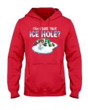 Bore Your Ice Hole Hooded Sweatshirt front
