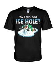 Bore Your Ice Hole V-Neck T-Shirt thumbnail