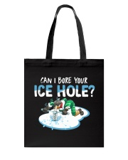 Bore Your Ice Hole Tote Bag thumbnail