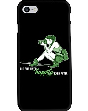 She Lived Happily Phone Case thumbnail