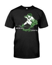 She Lived Happily Classic T-Shirt front