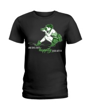 She Lived Happily Ladies T-Shirt thumbnail