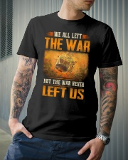 War Never Left Classic T-Shirt lifestyle-mens-crewneck-front-6