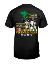 Too Young Classic T-Shirt back