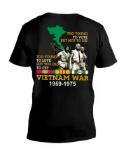 Too Young V-Neck T-Shirt thumbnail