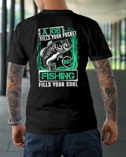 Fills Your Soul Classic T-Shirt lifestyle-mens-crewneck-back-3