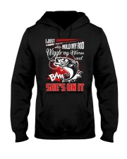 Hold My Rod Hooded Sweatshirt thumbnail