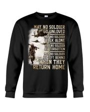 May They Return Home Crewneck Sweatshirt thumbnail