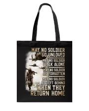 May They Return Home Tote Bag thumbnail