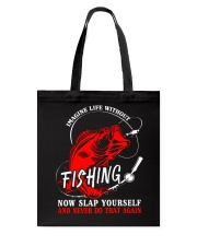 Imagine Fishing Tote Bag thumbnail