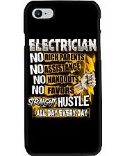 Electrician Straight Hustle Phone Case thumbnail