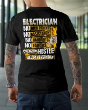 Electrician Straight Hustle Classic T-Shirt lifestyle-mens-crewneck-back-3