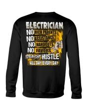 Electrician Straight Hustle Crewneck Sweatshirt thumbnail
