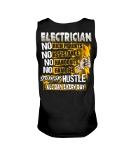 Electrician Straight Hustle Unisex Tank thumbnail