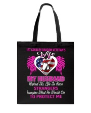 Protect Wife 1st Cavalry Tote Bag thumbnail