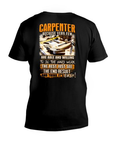 Carpenter Hard Work