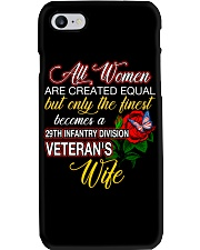 Finest Wife 29th Infantry Phone Case thumbnail