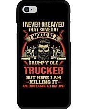 Grumpy Old Trucker Phone Case thumbnail