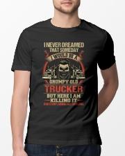 Grumpy Old Trucker Classic T-Shirt lifestyle-mens-crewneck-front-13