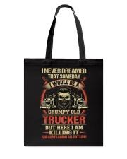 Grumpy Old Trucker Tote Bag thumbnail