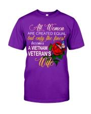 Finest Vietnam Veteran Wife Classic T-Shirt front