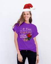Finest Vietnam Veteran Wife Classic T-Shirt lifestyle-holiday-crewneck-front-1