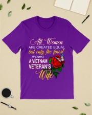 Finest Vietnam Veteran Wife Classic T-Shirt lifestyle-mens-crewneck-front-19