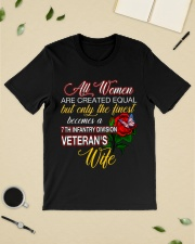Finest Wife 7th Infantry Classic T-Shirt lifestyle-mens-crewneck-front-19