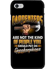 Carpenters Speakerphone Phone Case thumbnail