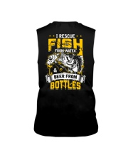 Rescue Fish And Beer Sleeveless Tee thumbnail