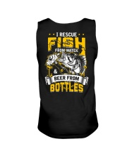 Rescue Fish And Beer Unisex Tank thumbnail