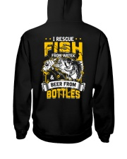 Rescue Fish And Beer Hooded Sweatshirt thumbnail