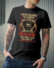 Grumpy Old Mechanic Classic T-Shirt lifestyle-mens-crewneck-front-6