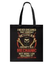Grumpy Old Mechanic Tote Bag thumbnail