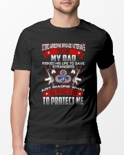 173rd Airborne Brigade Protect Son Classic T-Shirt lifestyle-mens-crewneck-front-13