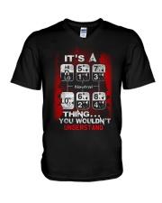 Not Understand V-Neck T-Shirt thumbnail