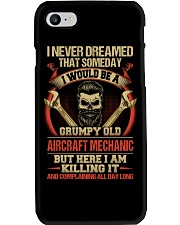 Grumpy Old Aircraft Mechanic Phone Case tile