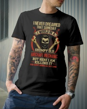 Grumpy Old Aircraft Mechanic Classic T-Shirt lifestyle-mens-crewneck-front-6
