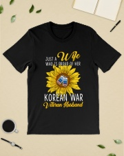 Just Korean War Vet Wife Classic T-Shirt lifestyle-mens-crewneck-front-19