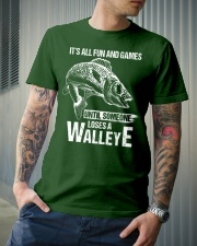 Walleye Classic T-Shirt lifestyle-mens-crewneck-front-6