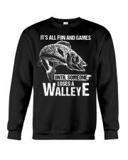 Walleye Crewneck Sweatshirt thumbnail