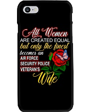 Finest Wife Security Police Phone Case thumbnail