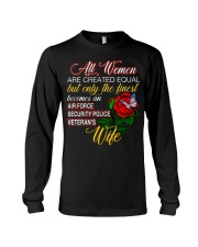 Finest Wife Security Police Long Sleeve Tee thumbnail
