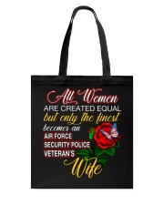 Finest Wife Security Police Tote Bag thumbnail