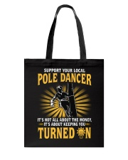 Pole Dancer Tote Bag thumbnail