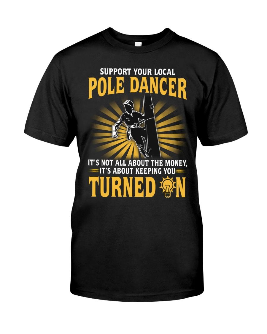 Pole Dancer Classic T-Shirt