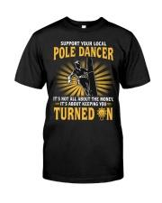 Pole Dancer Classic T-Shirt front